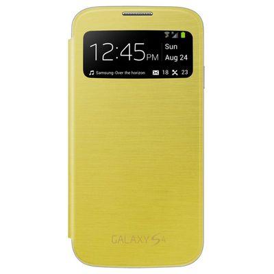 Capa-para-Galaxy-S4-S-View-Cover-Amarela-Samsung-EF-CI950BYEGWW