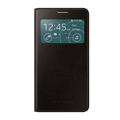 Capa-para-Galaxy-Gran-Duos-2-S-View-Cover-Preta-Samsung-EF-CG710BBEGBR