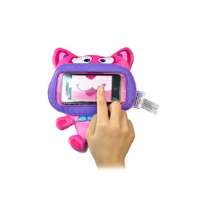 Capa-para-Smartphone-Pelucia-Protetora-Mini-Kitty-Wise-Pet-900205