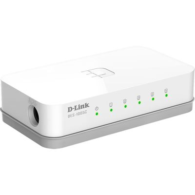 Switch-5-portas-10-100mpbs-Desktop-D-Link-DES-1005C