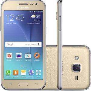 Samsung-Galaxy-J2-TV-Duos-Dourado-Android-5-1-Tela-4-7-8GB-4G-5MP-SM-J200-G