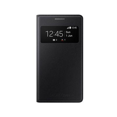 Capa-para-Galaxy-Core-2-S-View-Cover-Preta-Samsung-EF-CG355BBEGBR