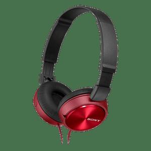 Headphone-com-microfone-Vermelho-Sony-MDR-ZX310AP-RQ
