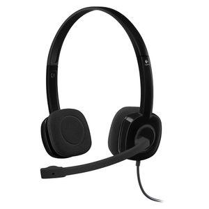 Headset-H151-conexao-P2-Logitech