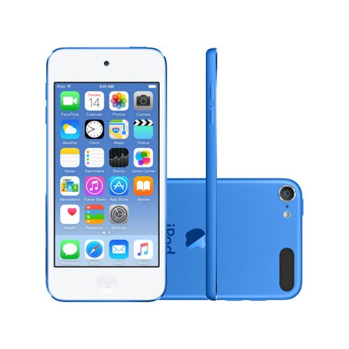 02981d86299 iPod touch 6 16GB Azul - Apple MKH22BZ A - cienciamodernaonline