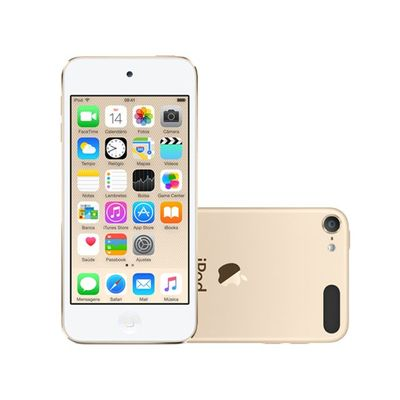 9fc2dfd5cd5 iPod touch 6 16GB Dourado - Apple MKH02BZ A - cienciamodernaonline