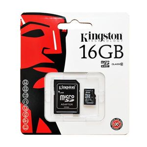 Cartao-de-Memoria-Micro-SD-16GB-Class-10-Adaptador-SD-Kingston-KINSDSISD1016G2A