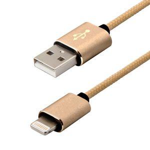 Cabo-Lightning-Premium-2M-Dourado-Easy-Mobile-CBLIGHT2MDD