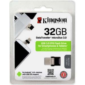 Pen-Drive-32GB-microDuo-PC-e-Smartphone-Kingston-DTDUO3-32GB