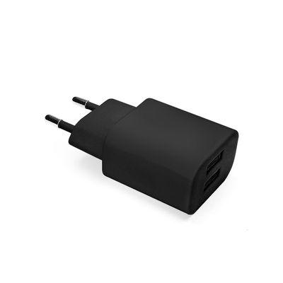 Carregador-de-parede-USB-Essential-dupla-saida-2.1A-Preto---Geonav-ESACB2