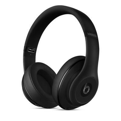 Headphone Bluetooth Beats Studio circum auricular preto fosco - MHAJ2BZ/B