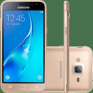 Samsung-Galaxy-J3-Dual-Chip-Android-5.1-Tela-5---8GB-4G-Wi-Fi-Camera-8MP-Dourado---SM-J320-G