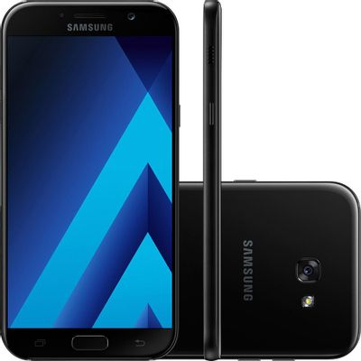 Samsung-Galaxy-A5-Dual-Chip-Android-6.0-Tela-5.2--Octa-Core-1.9-GHz-32GB-4G-Wi-Fi-Camera-16MP-Preto---SM-520-BK