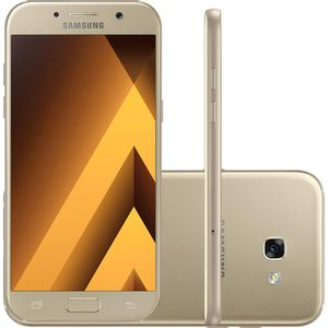 Samsung-Galaxy-A5-Dual-Chip-Android-6.0-Tela-5.2--Octa-Core-1.9-GHz-32GB-4G-Wi-Fi-Camera-16MP-Dourado---SM-520-G
