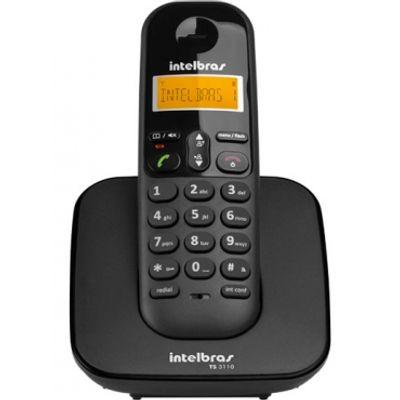 Telefone-Sem-Fio-TS-3110-Preto---Intelbras-4123110