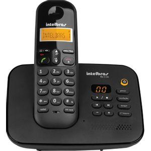 Telefone-Sem-Fio-Digital-com-Secretaria-Eletronica-Ts-3130-Preto---Intelbras-4123130