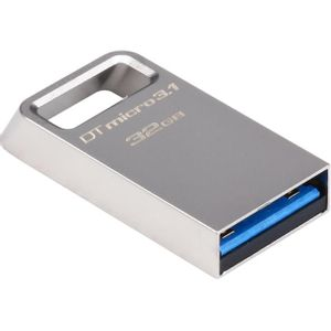 Pen-Drive-32GB-Kingston-DataTraveler-micro-3.1-Prata---DTMC3-32GB