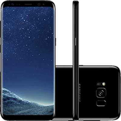 SamsungGalaxyS8DualChipAndroid70Tela58OctaCore23GHz64GB4GCamera12MPPretoSMG950BK