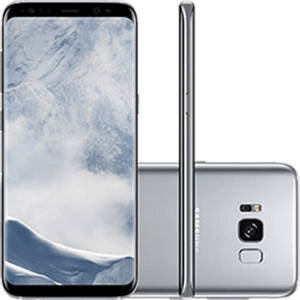 SamsungGalaxyS8DualChipAndroid70Tela58OctaCore23GHz64GB4GCamera12MPPrataSMG950S