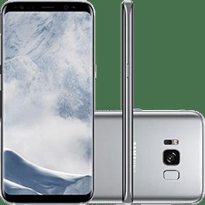 SamsungGalaxyS8DualChipAndroid70Tela58OctaCore23GHz64GB4GCamera12MPPrataSMG950S