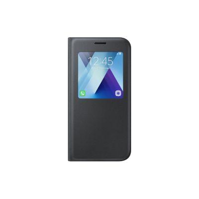 Capa-Protetora-S-View-Preta-Standing-Galaxy-A5--2017----Samsung-EFCA520PBEGBR