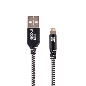 Cabo-Lightning-e-Micro-USB-Force-1.2M-Zebra-Preto-e-Branco---Easy-Mobile-CBFORCL12ZB