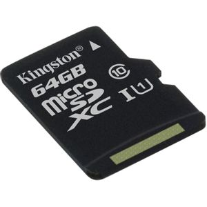 Cartao-Memoria-64GB-microSD-Canvas-Select---Kingston-SDCS-64GB