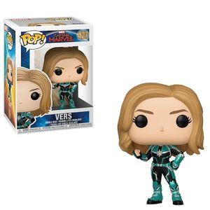 Funko-Pop-Marvel--Captain-Marvel---Vers---Unmasked