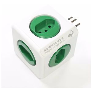 Filtro-Tomadas-PowerCube-5-Tomadas-Bivolt-Verde-Elg