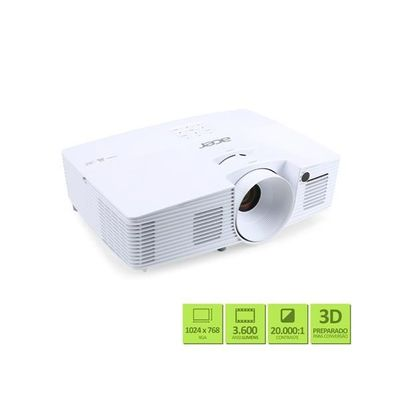 Projetor-Acer-X127H-3600-Lumens-XGA-HDMI-USB-3D-Ready