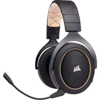 Headset-Gamer-Corsair-HS70-Wireless-Preto
