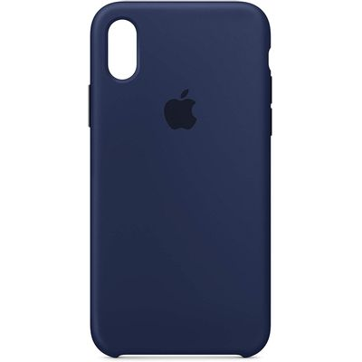 Capa-Apple-Iphone-X-Silicone-Azul-Escura---MQT32ZM-A