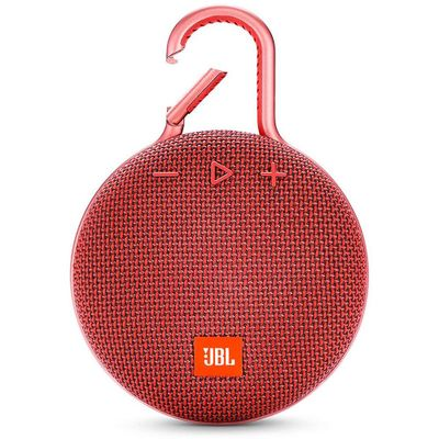 Caixa-de-Som-JBL-Clip-3---Vermelha-Ipx7