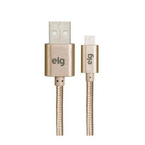 Cabo-Micro-USB-1M-Trancado-Dourado---ELG-M510BG