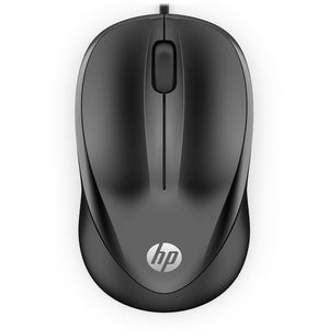 Mouse-HP-USB-1000-Preto
