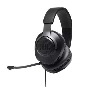 Fone-de-ouvido-JBL-Quantum-100-Microfone-removivel-espuma-para-microfone-QSG-|-Certificado-de-garantia-|-Ficha-de-seguranca