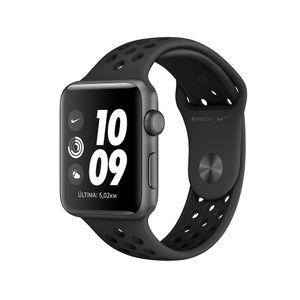 Apple-Watch-S3-42mm-Gps-NIKE--Cinza-Espacial-c--Pulseira-PRETA