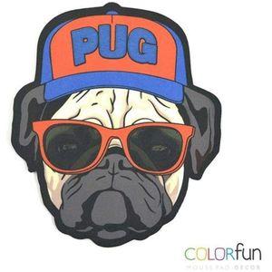 Mouse-Pad-Decor-Colorfun-Pug-Dog-Lord