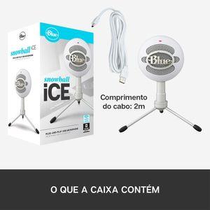 Microfone-Condensador-USB-Blue-Snowball-Ice-Branco
