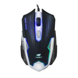Mouse-Gamer-C3-Tech-USB-Preto-Prata