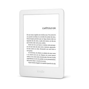 "Kindle-10ª-Geracao-6""-8GB-Com-Iluminacao-Branco"