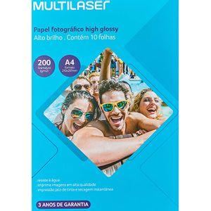 Papel-Fotografico-Multilaser-A4-200G--M2-C--10-Folhas---Branco---PE011