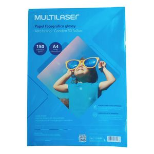 Glossy-Paper-Multilaser-A4-150G-C--50-Folhas---Branco---PE003